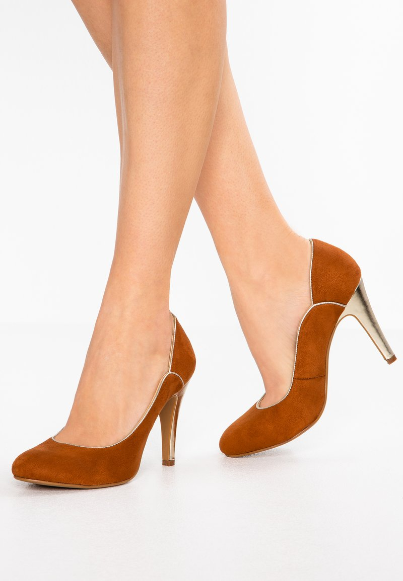 Divine Factory - High heels - camel