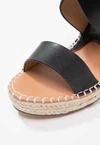 Divine Factory - Korolliset sandaalit - noir - 6