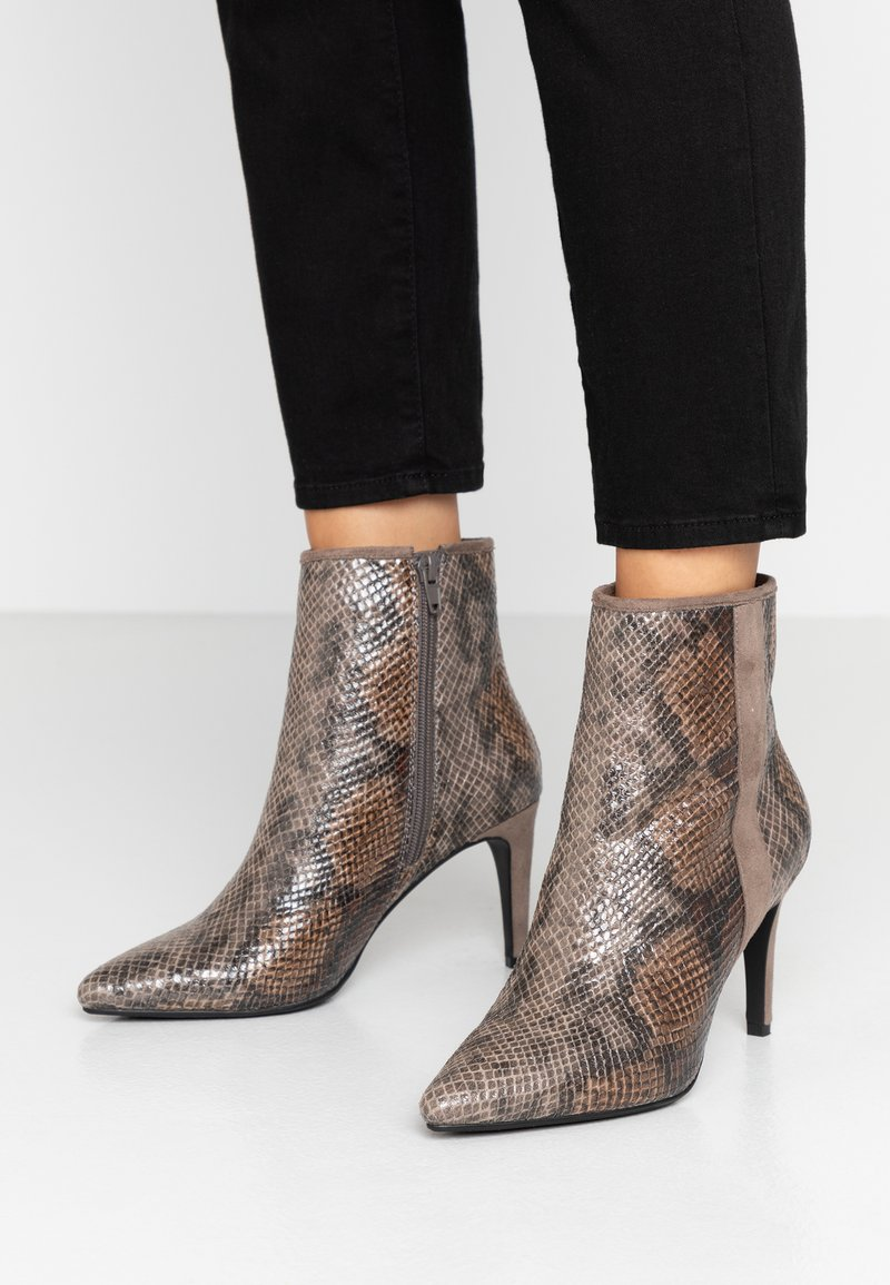 Divine Factory - High heeled ankle boots - multicolor