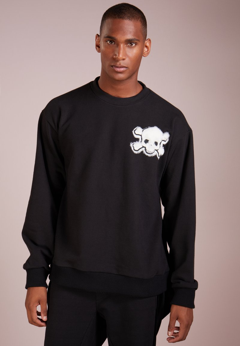 D.GNAK - SKULL WING KNOT  - Sweatshirts - black