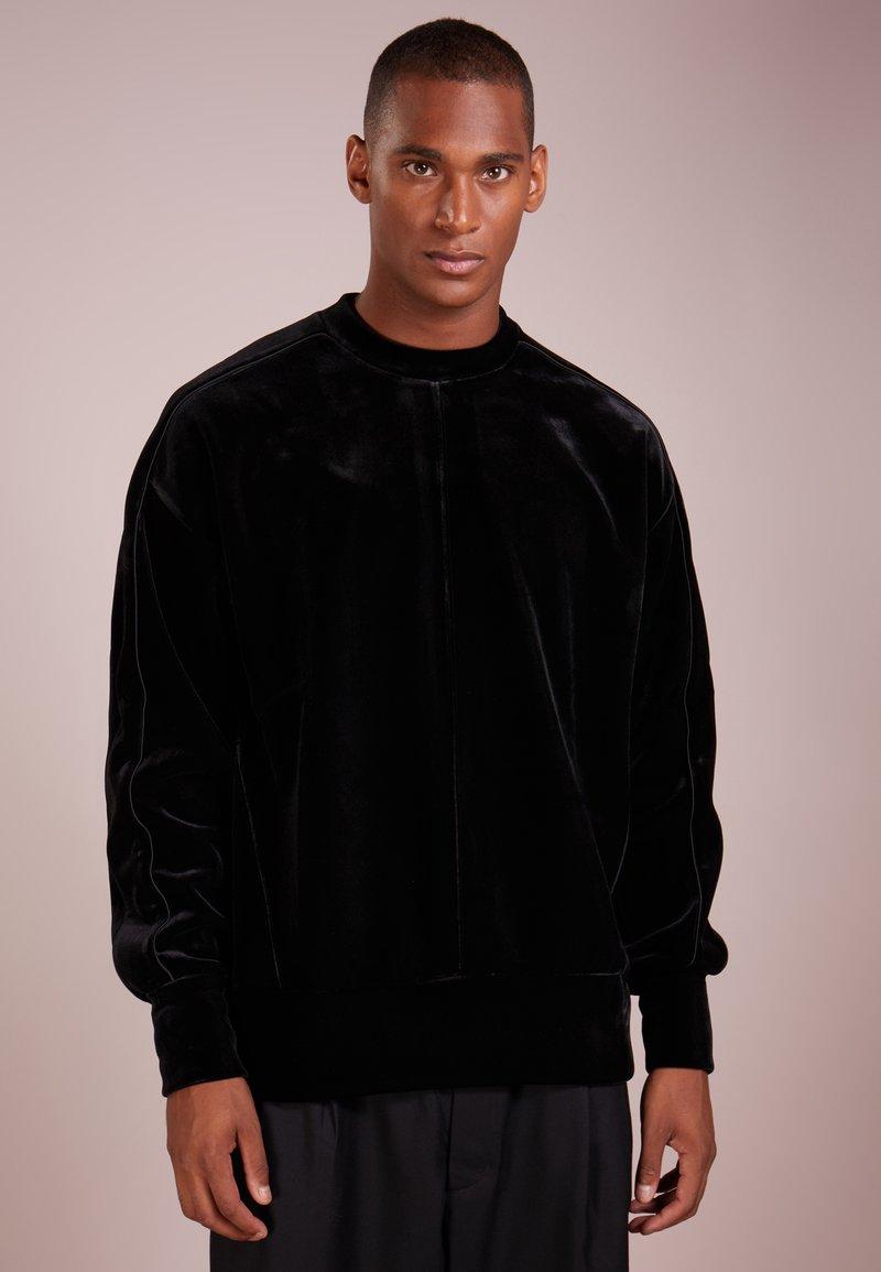 D.GNAK - PIPING - Sweater - black