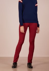 House of Dagmar - MEGGY - Leggingsit - burgundy - 0