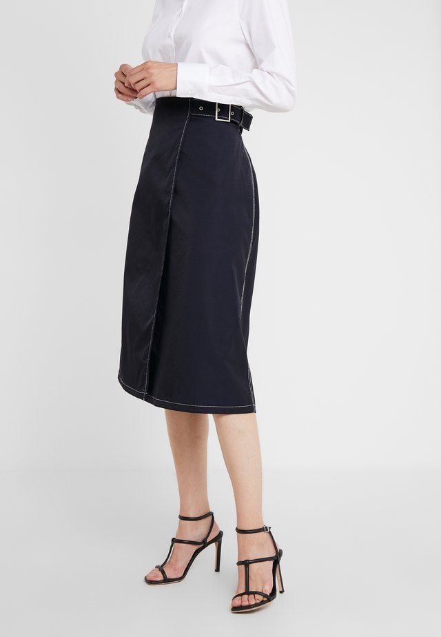 IVY - A-line skirt - navy