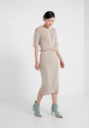 AUBURN - Maxi dress - oat