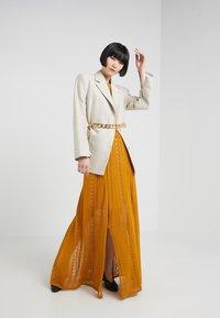 House of Dagmar - GRACE - Maxi dress - saffron - 1