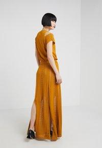 House of Dagmar - GRACE - Maxi dress - saffron - 2
