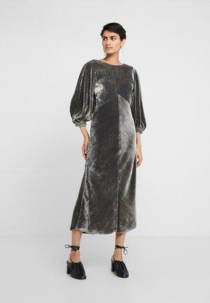 Sukienka koktajlowa - silver/black