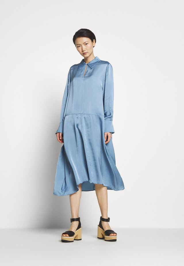 KIKI - Day dress - dove blue