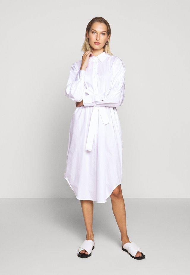 ELLIE - Shirt dress - white