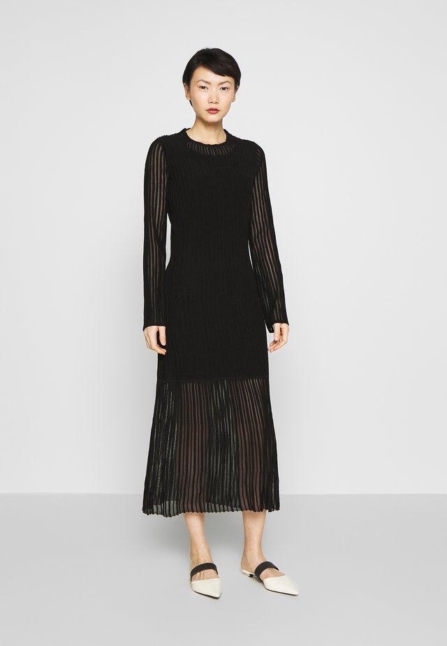 KIMMI - Jumper dress - black