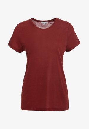 UPAMA - T-shirt basic - burgundy