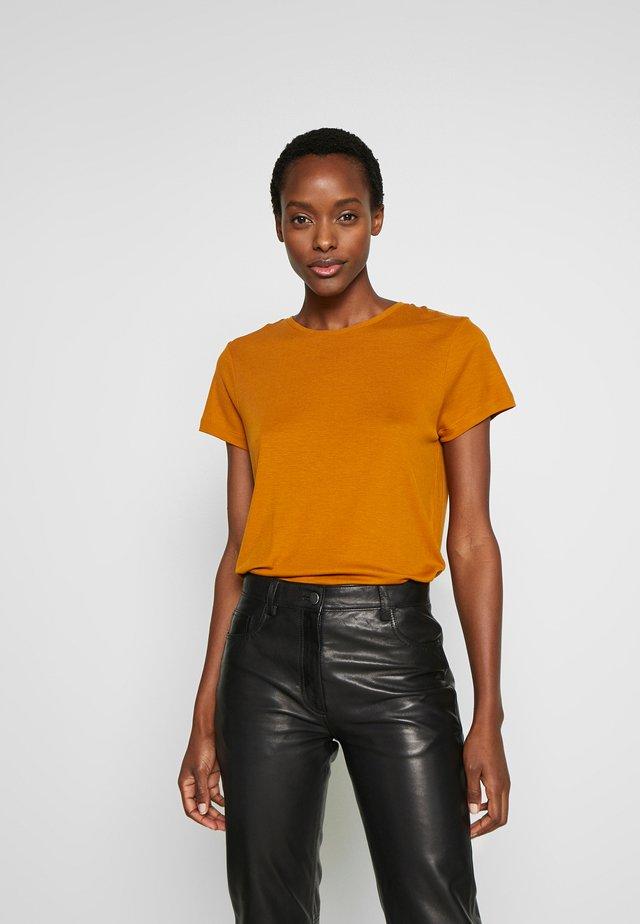 UPAMA - Basic T-shirt - caramel