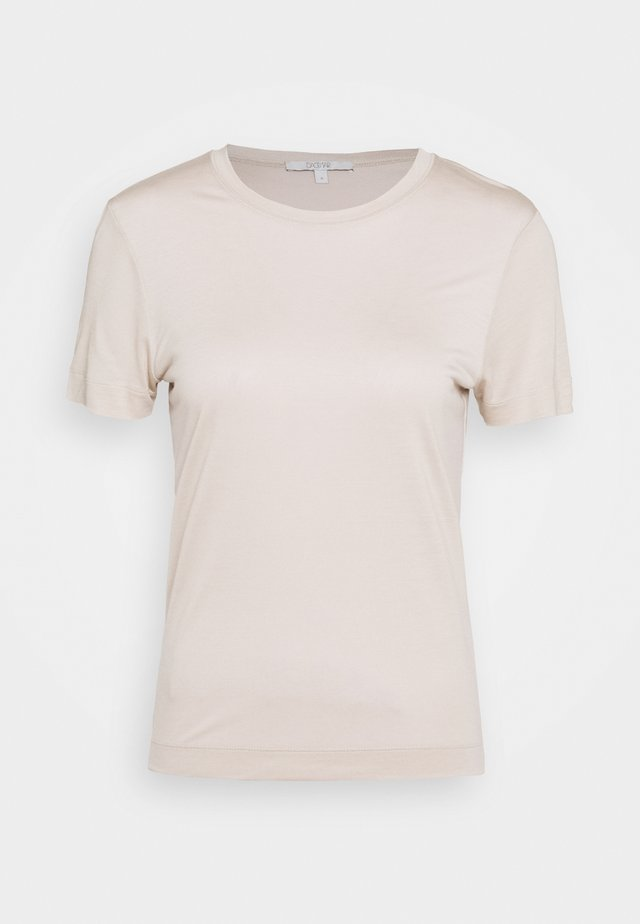 CLAUDIA - T-shirt basic - light grey
