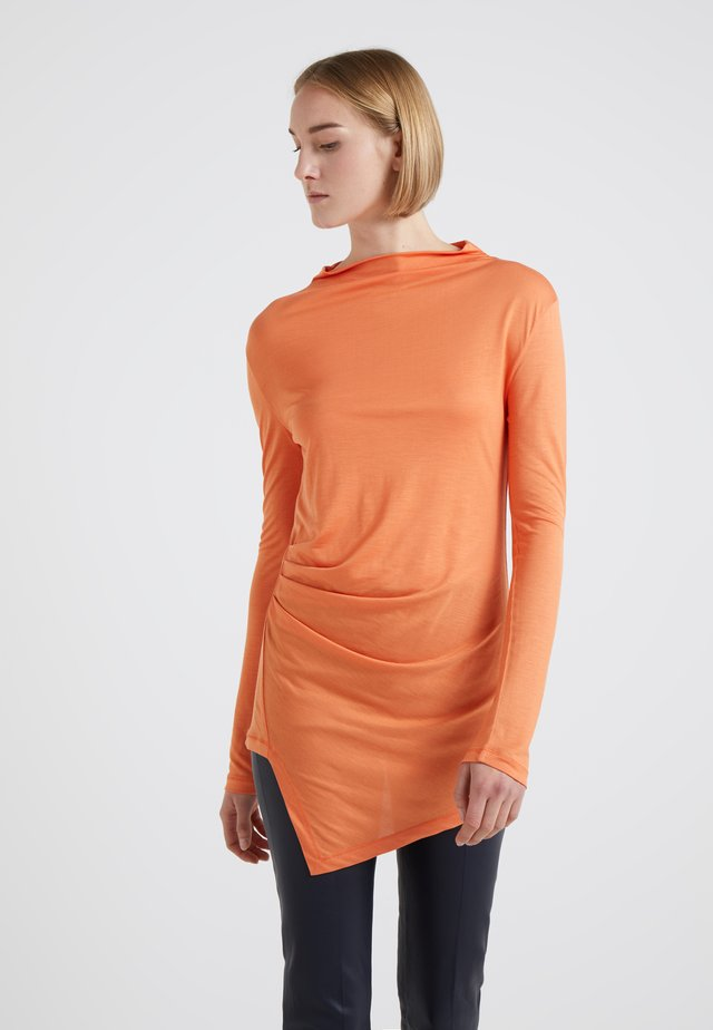 JESSIE - Long sleeved top - peach