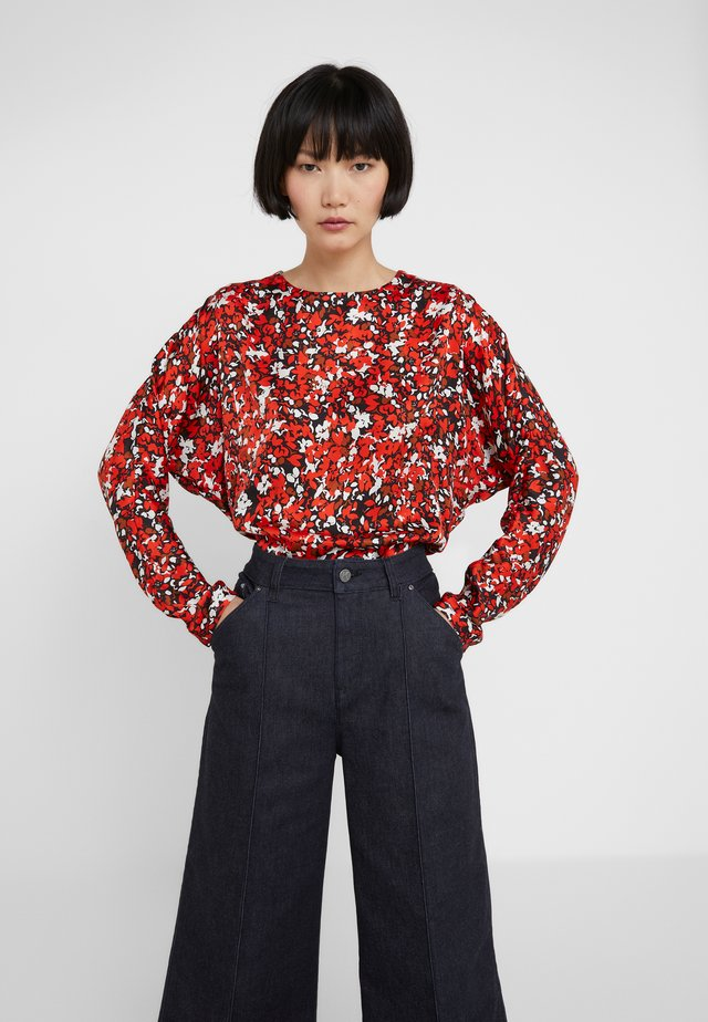 SEIJA - Blouse - red flower