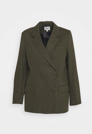 ANISSA - Korte frakker - dark green