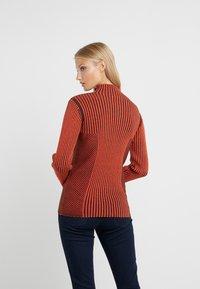 House of Dagmar - KAROLINE - Pullover - red/black - 2