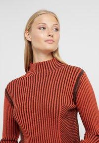 House of Dagmar - KAROLINE - Pullover - red/black - 3