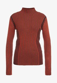 House of Dagmar - KAROLINE - Pullover - red/black - 4