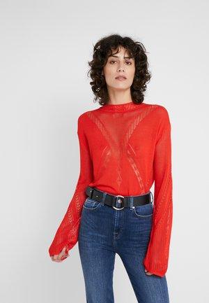HILDA - Pullover - red