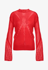 House of Dagmar - HILDA - Sweter - red - 4