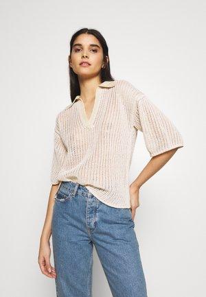 MELISSA - T-shirt z nadrukiem - vanilla white