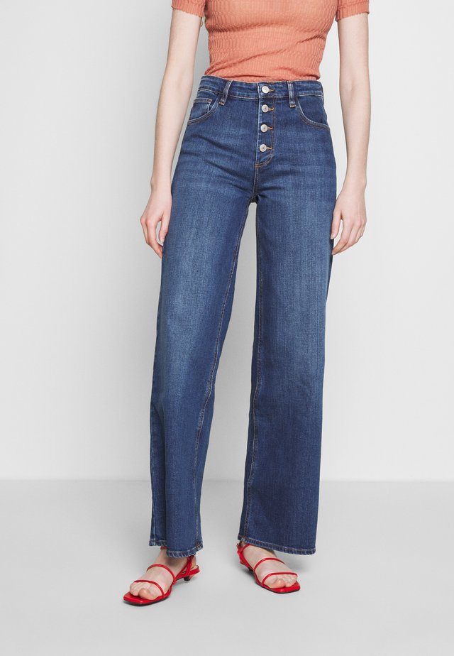 PEGGY - Jean flare - washed blue