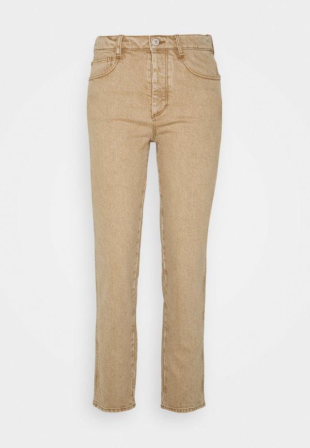 DEVINE - Straight leg jeans - camel
