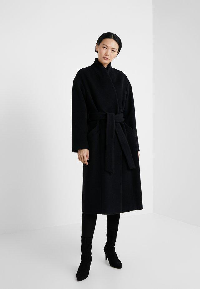 ALIDA - Cappotto classico - black