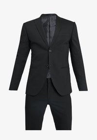 Isaac Dewhirst - BASIC PLAIN SUIT SLIM FIT - Kostuum - black - 10