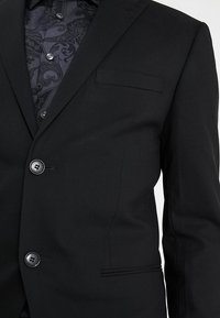 Isaac Dewhirst - BASIC PLAIN SUIT SLIM FIT - Kostuum - black - 6