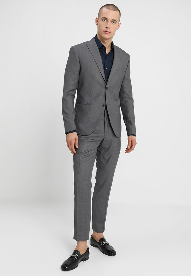 FASHION SUIT SLIM FIT - Suit - mid grey