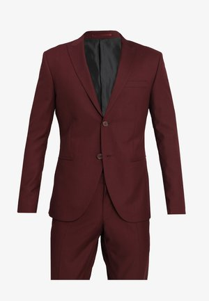 FASHION SUIT SLIM FIT - Costume - bordeaux