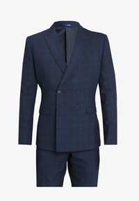 Isaac Dewhirst - FASHION CHECK SUIT - Completo - navy - 10