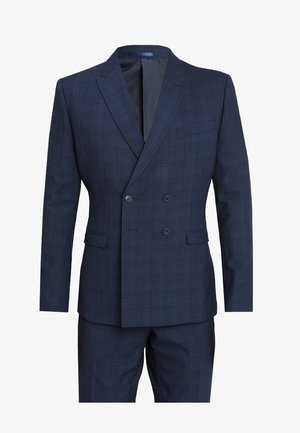 FASHION CHECK SUIT - Costume - navy