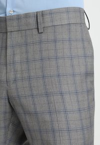 Isaac Dewhirst - FASHION CHECK SUIT SLIM FIT - Suit - grey - 8