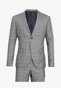 Isaac Dewhirst - FASHION CHECK SUIT SLIM FIT - Suit - grey - 10