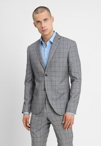 Isaac Dewhirst - FASHION CHECK SUIT SLIM FIT - Suit - grey - 2