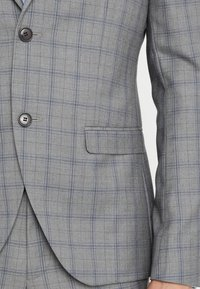 Isaac Dewhirst - FASHION CHECK SUIT SLIM FIT - Suit - grey - 11