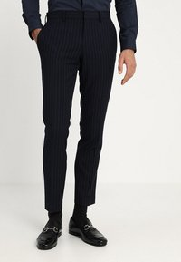 Isaac Dewhirst - FASHION STRIPE SUIT - Suit - navy - 4