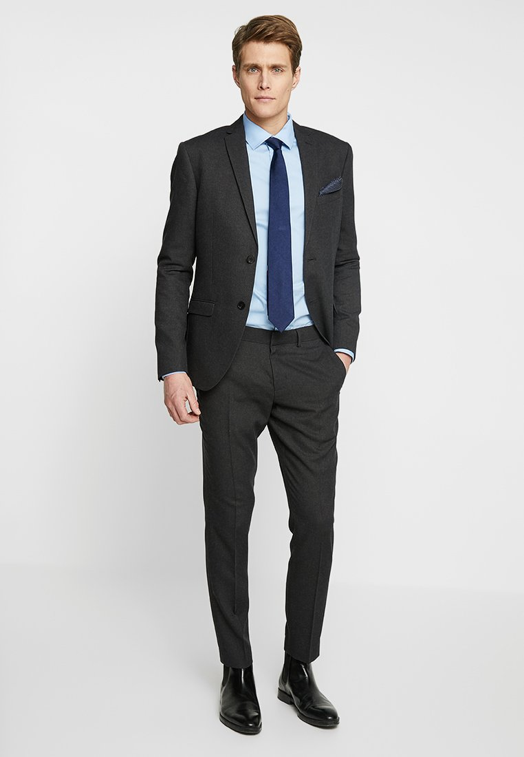 Isaac Dewhirst - SUIT STRUCTURE - Completo - dark charcoal