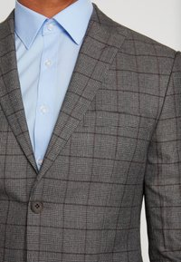 Isaac Dewhirst - FASHION SUIT CHECK - Suit - grey - 11
