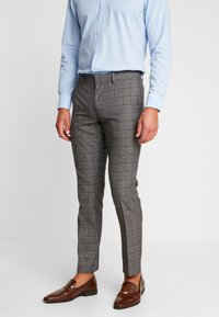 Isaac Dewhirst - FASHION SUIT CHECK - Suit - grey - 4