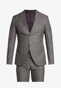 Isaac Dewhirst - FASHION SUIT CHECK - Suit - grey - 10