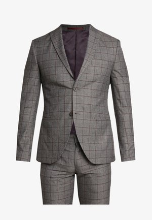 FASHION SUIT CHECK - Suit - grey