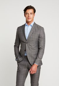 Isaac Dewhirst - FASHION SUIT CHECK - Suit - grey - 2