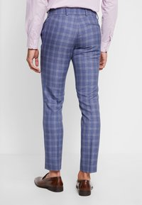 Isaac Dewhirst - FASHION SUIT CHECK - Costume - navy - 5