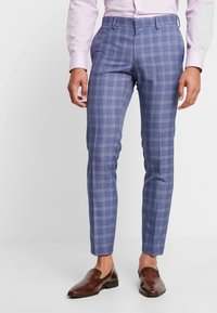 Isaac Dewhirst - FASHION SUIT CHECK - Costume - navy - 4