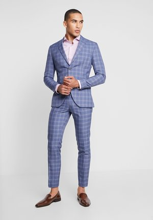 FASHION SUIT CHECK - Kostuum - navy