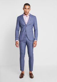 Isaac Dewhirst - FASHION SUIT CHECK - Costume - navy - 1